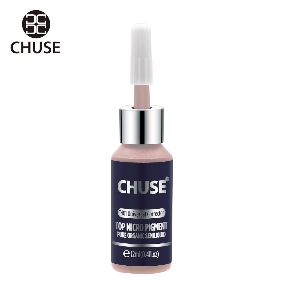 все цены на CHUSE Universal Corrector T401 Permanent Makeup Ink Lips Tattoo Ink Set Eyebrow Microblading Pigment Professional 12ML 0.4oz онлайн