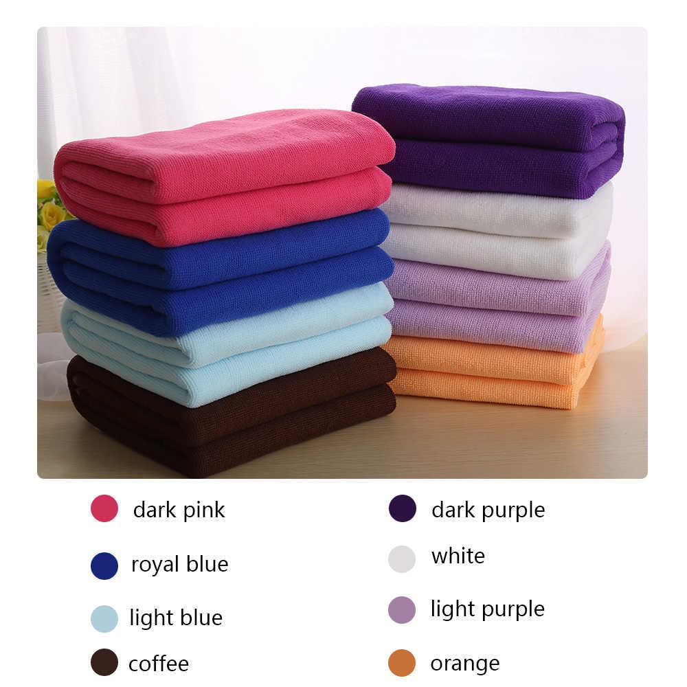 1 шт. цветное быстросохнущее абсорбирующее банное полотенце 70x140 см пляжное