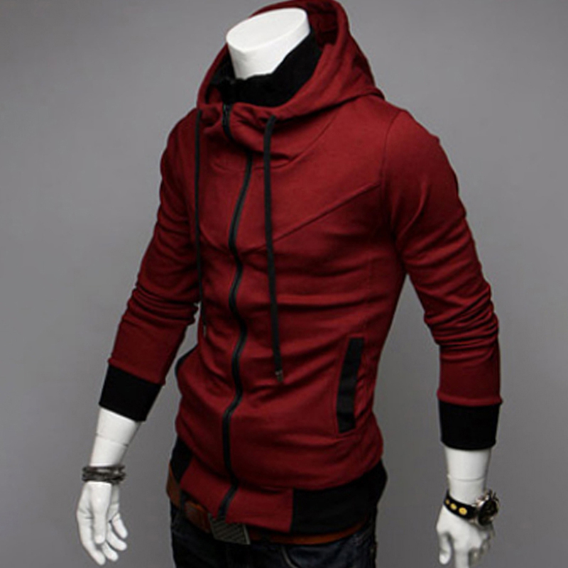 HTB1HFaeXsvrK1Rjy0Feq6ATmVXay Bigsweety Fashion 2018 New Autumn Winter Men's Jacket Male Color Matching Jacket Male's Hooded Coat Outwear