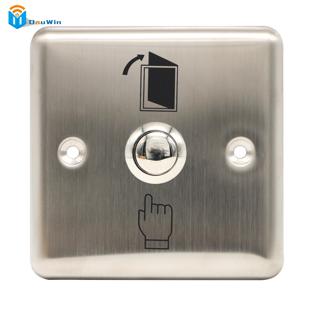 Strong Material Exit Button Access control Exit Push Release Button Switch For Door Access Control  from Douwin exit