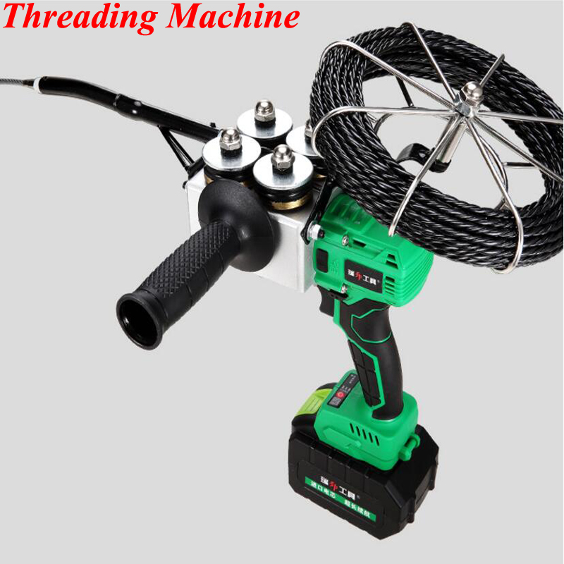 Eletricista Cabo de Fio Dispositivo de Rosqueamento Automático Linha de Tração Elétrica Threader Tubulação Elétrica Threader Fios Pull Rodder CX-8806