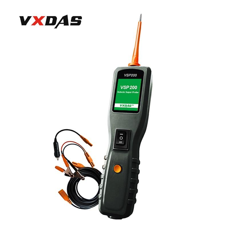 VXDAS VSP200 Vehicle Super Probe Electrical Systems Diagnostic-Tool Power Probe Automotive Circuit Tester
