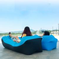 Aufblasbare Luft Sofa Bett Garten Faul Stuhl Im Freien Schlafsack Stuhl Strand Liege Couch-in Garten-Sofas aus Möbel bei