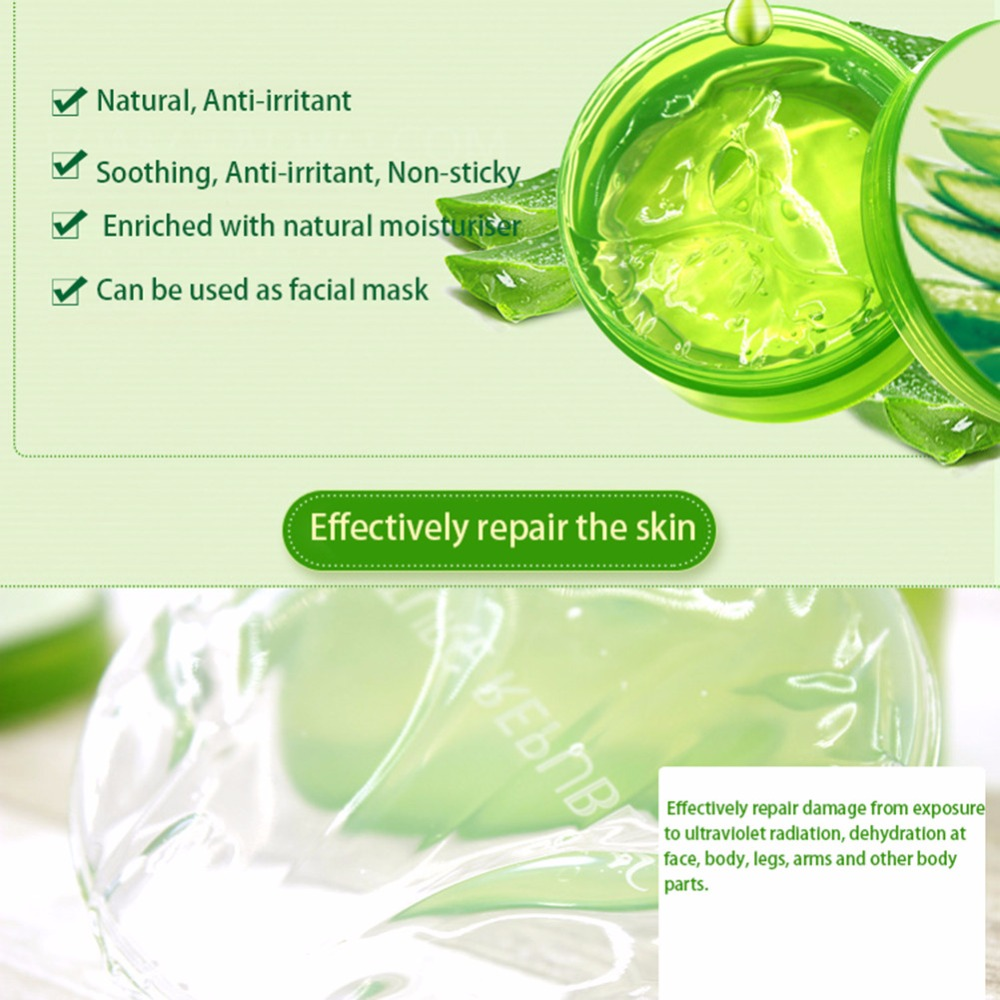 Original Korea Cosmetics Nature Republic Aloe Vera 96 Soothing Gel 160ml 300ml Acne Treatment Face Cream For Hydrating Moist 40 In Skin Care Tools From