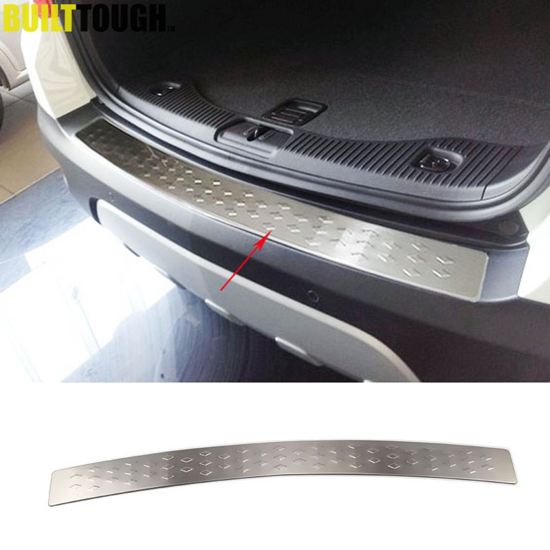 BUICK ENCORE CHEVROLET TRAX 2013 Rear Bumper Sill Cover Protector Brushed Steel