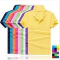 Жаркое Лето марка одежды мужская твердые polo shirt tommis 100% хлопок camisa мужчины хомбре тенис дизайнер повседневная blusas Размер S-6XL