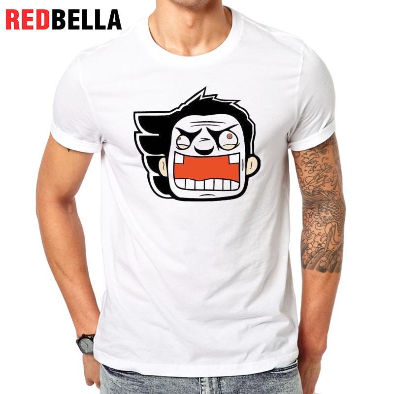 redbella tee homme spoof humor harajuku animation cool. Black Bedroom Furniture Sets. Home Design Ideas