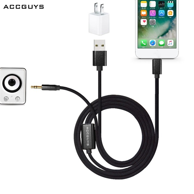 For Iphone Xs 7 Plus 8 X Earphoneheadphone Usb Charger Extension