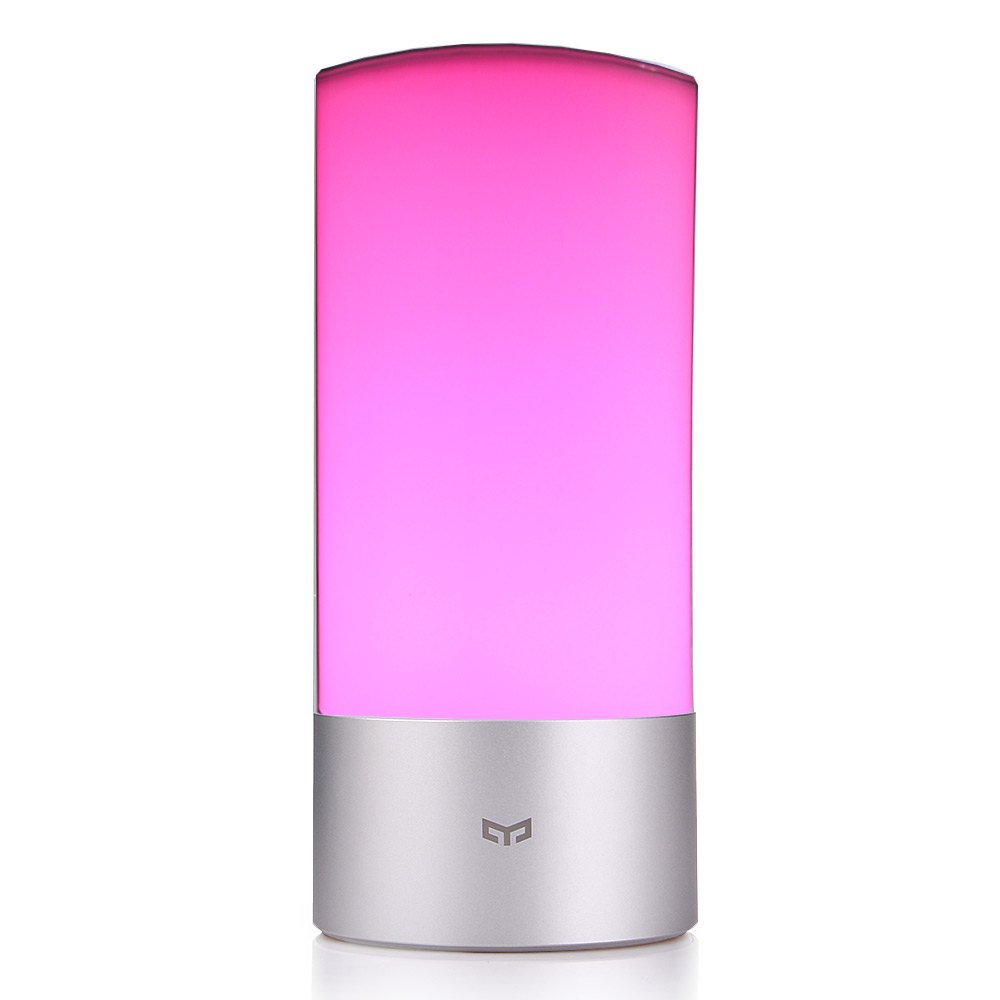 2016 High Quality Fashion Original Xiaomi Yeelight Indoor LED Night <font><b>Light</b></font> Dimmable Bedside Lamp Support Mobile Phone App Control