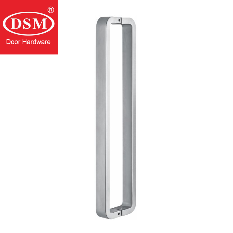 Shower Door Pull Handle Made With 304 Stainless Steel For Bathroom Entrance Doors PA 1572 30*15*465mm