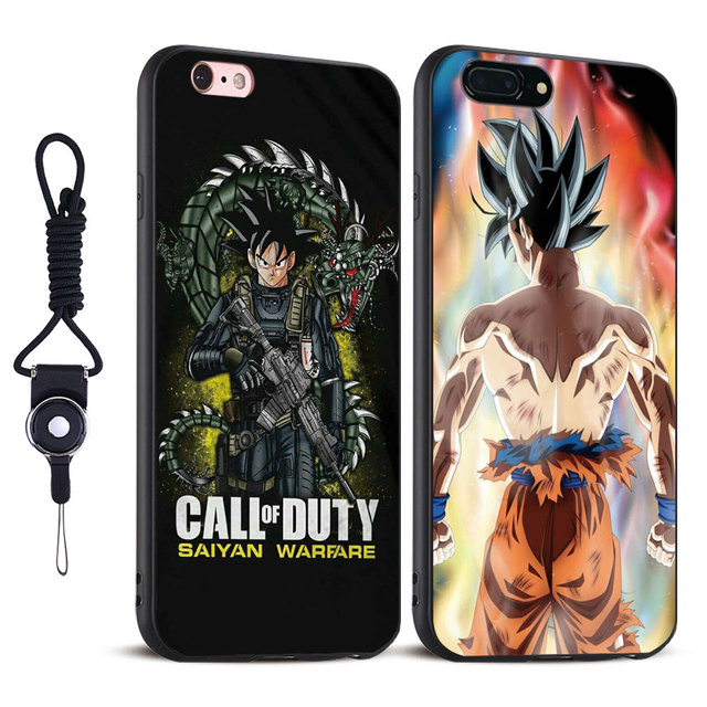 Dragon Ball Z Super Goku Soft Silicone Phone Case For Apple iPhone X 8Plus 8 7Plus 7 6sPlus 6s 6Plus 6 5 5S SE