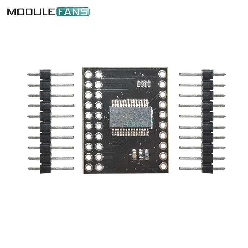 MCP23017 Serial Interface Module IIC I2C SPI MCP23S17 Bidirectional 16-Bit  I/O Expander Pins 10Mhz Serial Interface Module