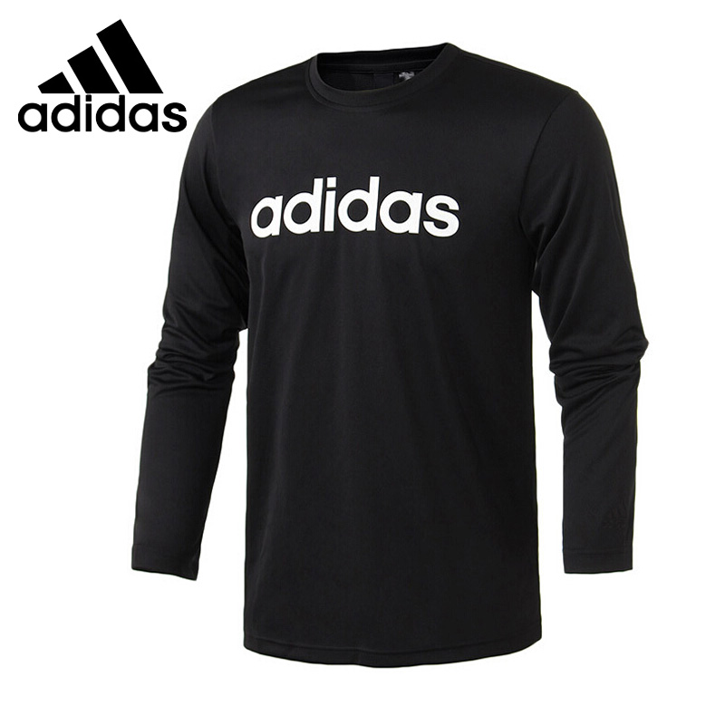 Original New Arrival  Adidas M LOGO LS T Men's T-shirts Long sleeve Sportswear