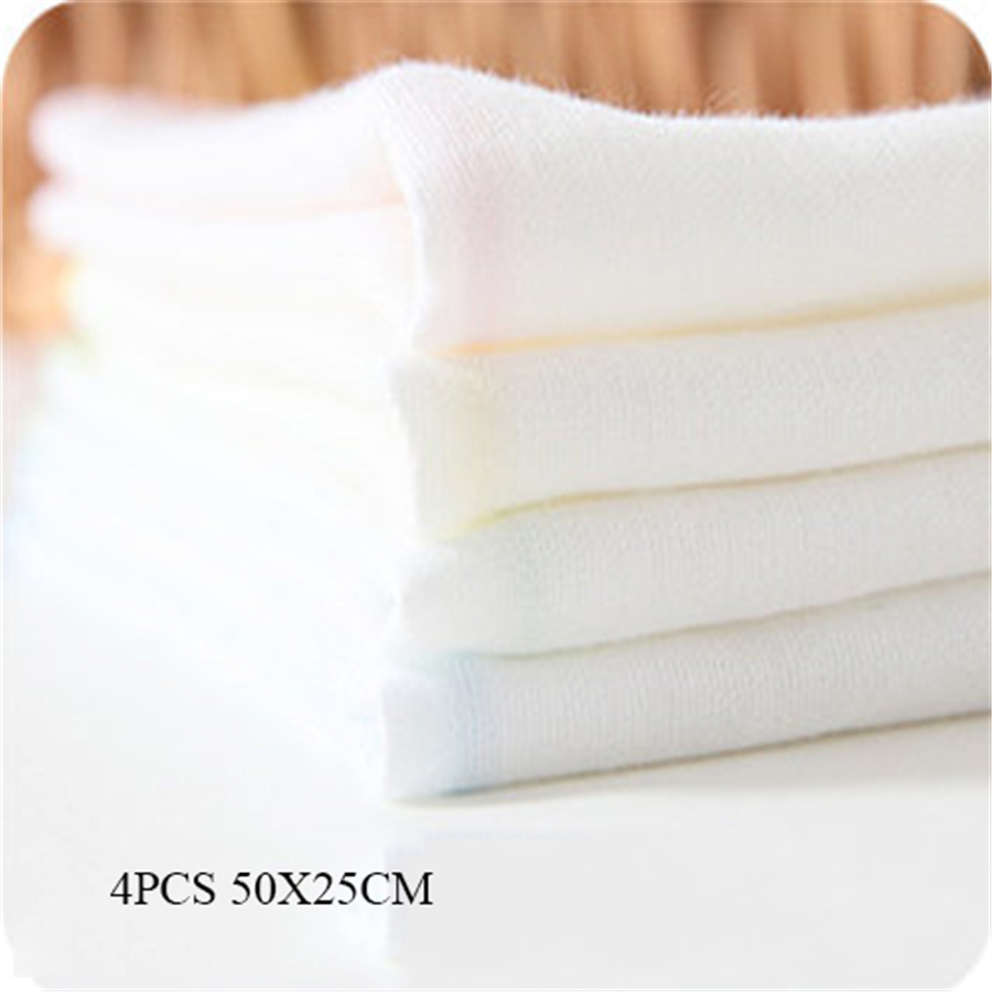 Muslin Cotton Newborn Baby Towels Bath Gauze Wash Cloth Bamboo Fiber Textile 1 Pcs Solid Baby Face Towel Set 70A0056