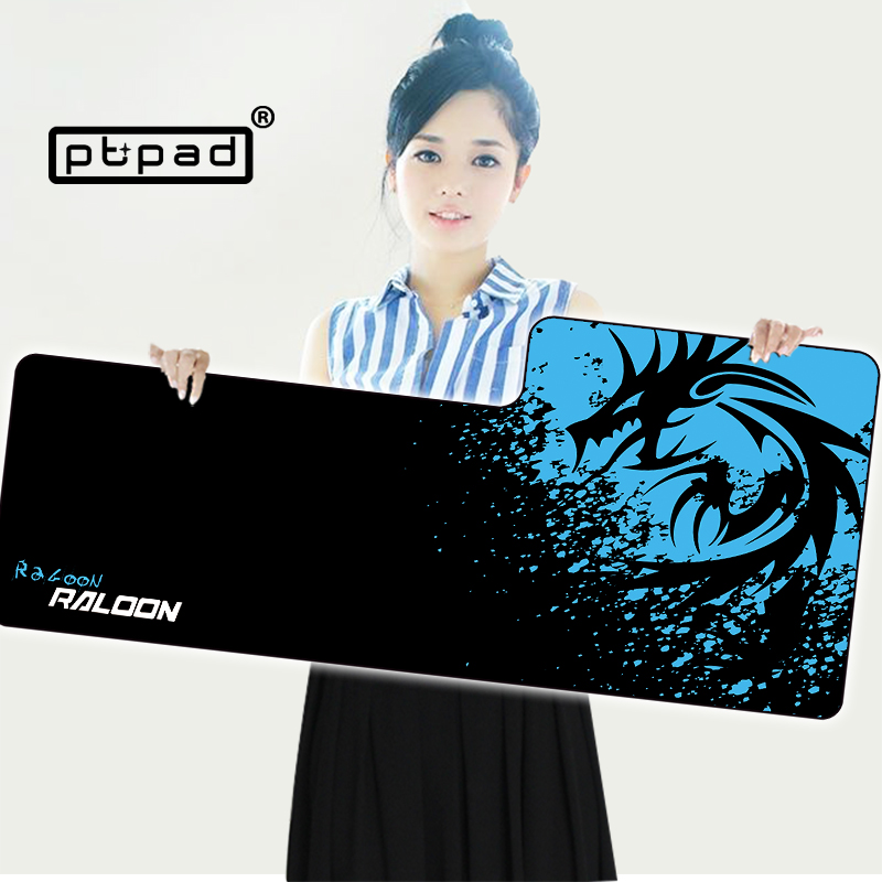 pbpad store XL Speed/Control Version Large Gaming Mouse Pad Locking Edge Mousepad Keyboards Mat computer game tablet mouse pad  stitched edge rubber cs go large gaming mouse pad pc computer laptop mousepad for apple logo style print gamer speed mice mat
