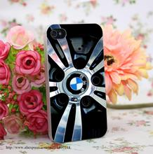 HO-268509 Luxury Car Brand logo Hard Transparent Painted Cover for iphone 4 4s 5 5s 6 6s plus 7 7 Plus
