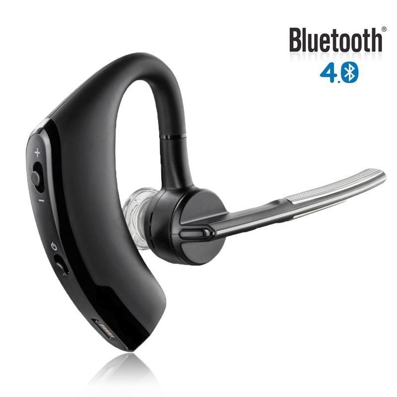 Mini Wireless Headset Stereo Bluetooth Earbuds Earphone Business Headphones with Microphone Car Driver Hands Free Call for Phone airersi k6 business bluetooth headset smart car call wireless earphone with microphone hands free and headphones storage box