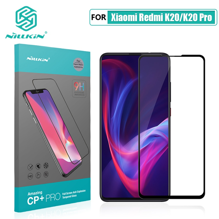 For Xiaomi Mi 9t Pro Glass Screen Protector NILLKIN Amazing H/H+PRO 9H For Xiaomi Mi 9t Tempered Glass Protector Redmi K20 Pro