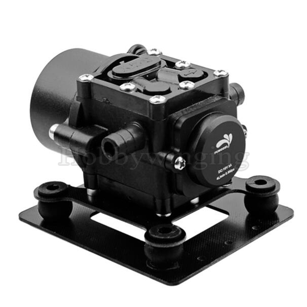 5kg/10kg Agricultural Plant Protection UAV Super Mini Brushless Water Pump Self Sucking 16V 0.6MPa 10kg plant spray uav for 10l box diy 6 axis plant protection machine