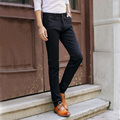 Men's Spring Winter Skinny Pencil Elastic Suits Pants Casual High Quality Elegant Business Wear Slim Fit Long Straight Trousers