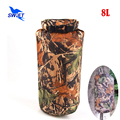 8L Camouflage Ultralight Nylon Waterproof Swimming Bag 2016 Snorkeling Diving Rafting Drifting Storage Dry Bag Pool Stuff Sack