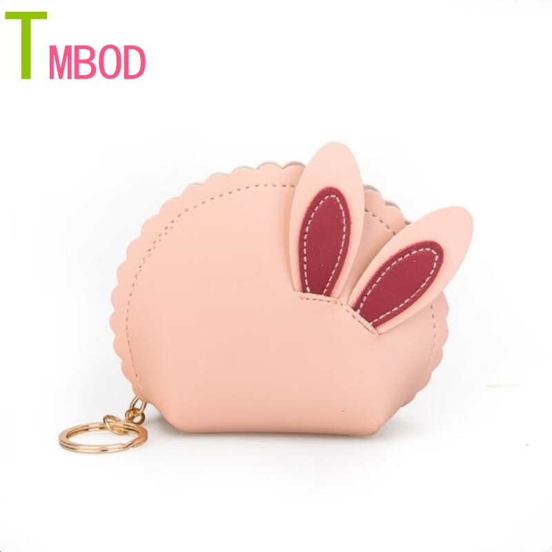 Small fresh literature rabbit ears ladies purse bag new fashion spell simple cute joker clutch bag al243