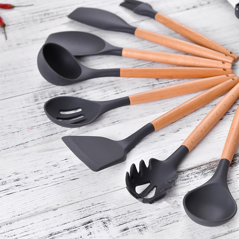 US $3.7 43% OFF|Silicone Baking Nonstick kitchenware Cookware Cooking Tool  Gadget Set Kitchen Gadgets Accessories Tools Sets Supplies-in Cooking Tool  ...
