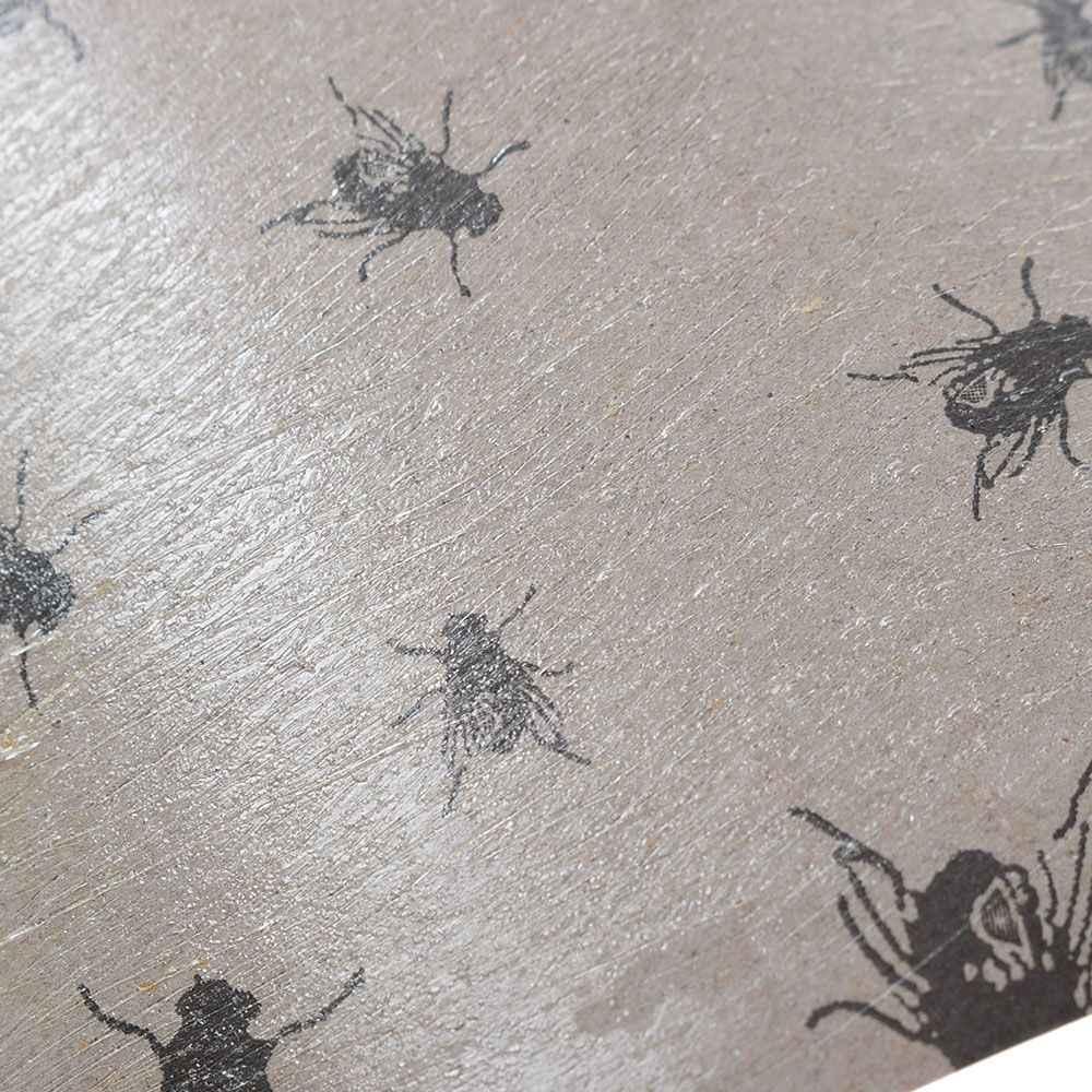 Forte mouche collante papier environnement insecte mouche colle piège à papier ruban bande collante mouches rouleaux non-toxique