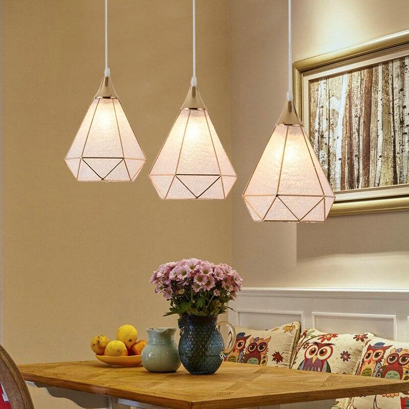 LukLoy moderne suspension plafonniers Loft pour la cuisine pendentif LED lumières Hanglamp suspension luminaire suspension LED