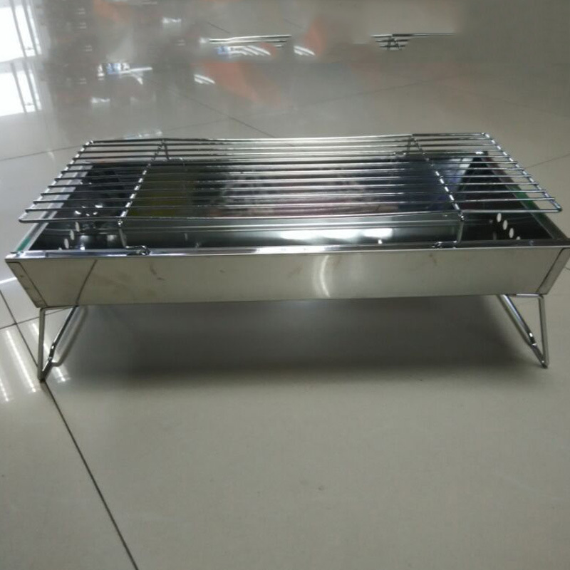 Bbq Grill Charcoal Outdoor Stainless Steel Barbecue Oven