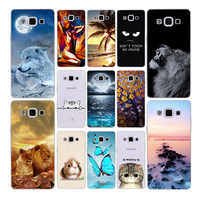 Funda Geruide de 5,0 pulgadas para Samsung Galaxy E5 E500 E500F diseño de silicona suave funda de teléfono funda para Samsung galaxy E5 E 5