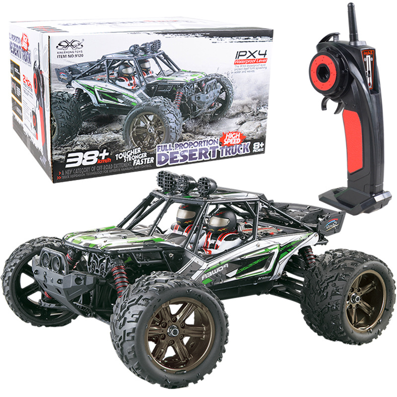 RC Car 1/12 38KM/H high Speed 2.4G 4wd Desert Off-Road electric rc monster Desert truck bigfoot racing car toy model toy цена 2017