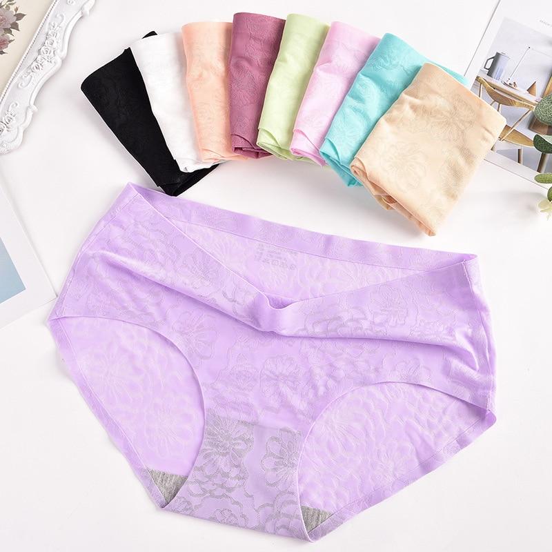 womens fashion Middle seamless girl panties Women's sexy panties women's print cotton briefs panties shorts for knickers women