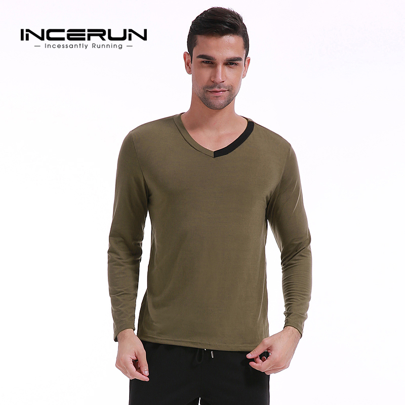 Popular Plain Long Sleeve T Shirts for Men-Buy Cheap Plain Long ...