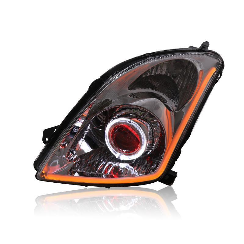 Neblineros укладка внешний Assessoires параметры люксов освещения авто огни сборки Drl лампы светодио дный освещение автомобиля фары для Suzuki Swift