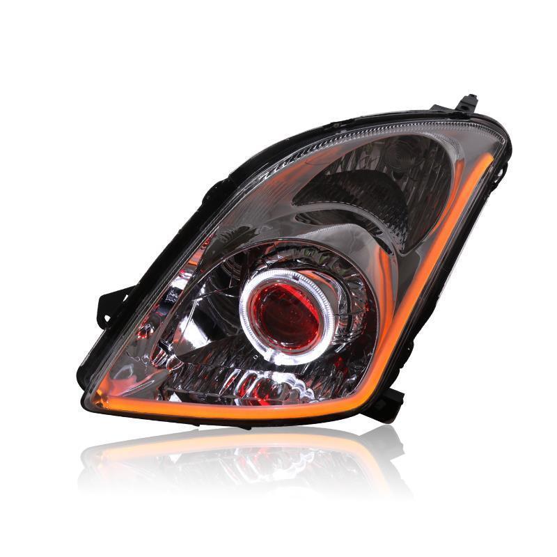 Neblineros Style Extérieur Assessoires Luces Para Auto Lumières Assemblée Drl Lampe Led Voiture D'éclairage Phares Pour Suzuki Swift