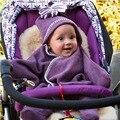 Новорожденных детская одежда Зимние Детские коляски из одежды Ребенка Пеленать Обертывание Для Новорожденных Детское Одеяло Пеленать Сна Мешок Младенческой Beddin