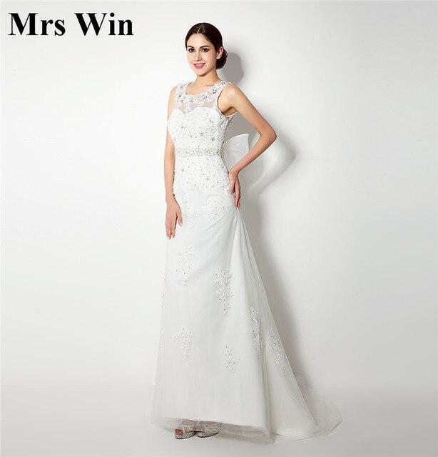 In Stock Vintage Lace Mermaid Wedding Dresses 2017 Vestido De
