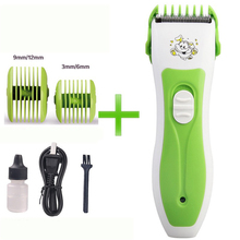 Rechargeable Baby Hair Trimmer Mute Design Hair Clipper Safe Machine to Haircut Suitable for Whole Family