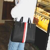 Модные Винтажные 2018 нейлон ткань большой мешок тенденция женщин краткий сумки разноцветная с устойчивым каблуком в полоску универсальная ...