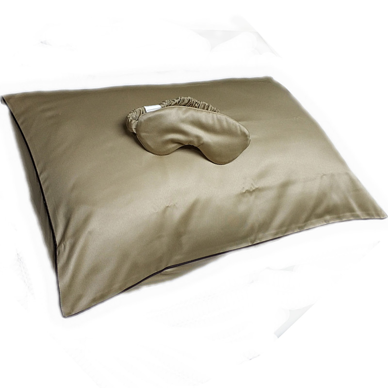 Copper anti-aging pillow case/cosmetic pillowcasse set