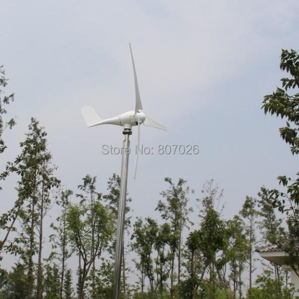 Offre spéciale! Moulin à vent horizontal de générateur de vent 600 w fabriqué en chine