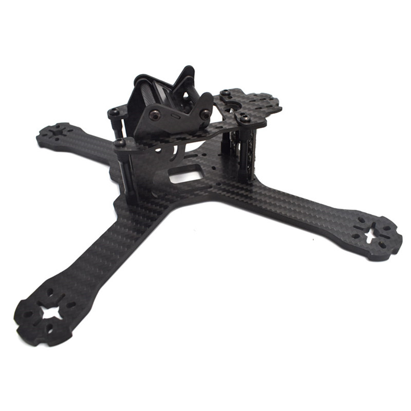 Original Realacc X210 Pro 214mm 3K Carbon Fiber FPV Racing Frame kit 4mm Frame Arm w/ LED Board 5V & 12V PDB For RC Model Parts