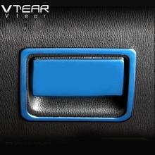 Vtear для Mazda CX5, 2017-2018 2019 2nd Gen автомобиль бардачок ручка рамки отделка украшения крышки накладки для салона автомобиля аксессуар