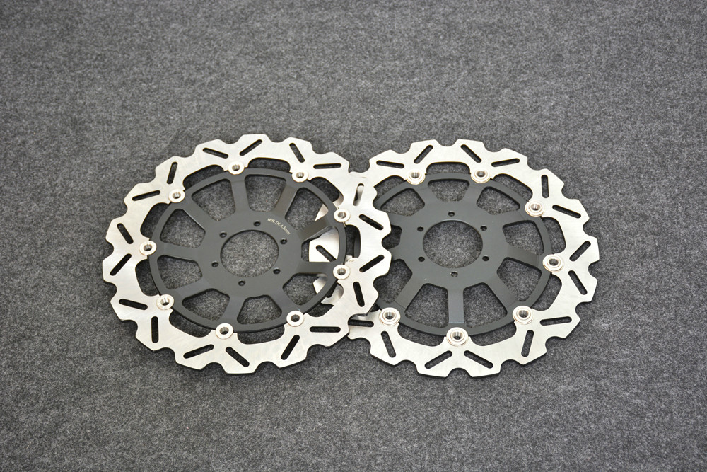 Motorcycle Front Brake Disc Rotors For CBR1100   Blackbird 99-08/CB1100 SFY/SF1  00-03   Correspondence year universal