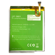 100% Original Backup LEAGOO S9  Battery BT-5801 3300mAh For Smart Mobile Phone+ + Tracking Number