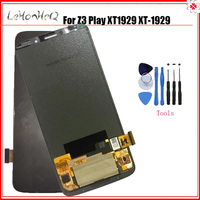 Test AMOLED For Motorola MOTO Z3 Play XT1929 LCD Display Touch screen Digitizer Assembly For MOTO Z3 Play XT 1929 LCD