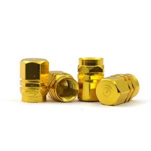 Image 5 - Fábrica de venda quente capa pneus válvulas haste do pneu tampas ar hermético novo 4 unidades/pacote theftproof roda de alumínio do carro com melhor preço