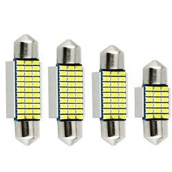 Festoon 31mm 36mm 39mm 42mm LED Bulb C5W C10W Super Bright 4014 SMD Canbus Error Free Auto Interior Doom Lamp Car Reading Light
