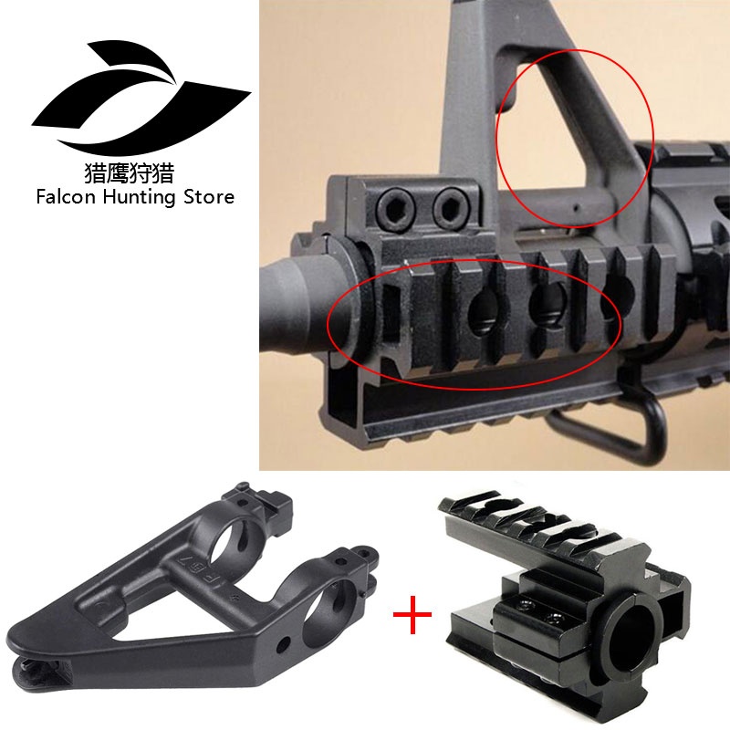 M Series Airsoft AEG Metal Triangle Front Sight +12 Gauge Gun 20mm Tri-rail Weaver/ Picatinny Rail Caliber